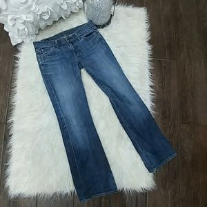 Citizens of Humanity ❤ Dita Petite Bootcut Jeans